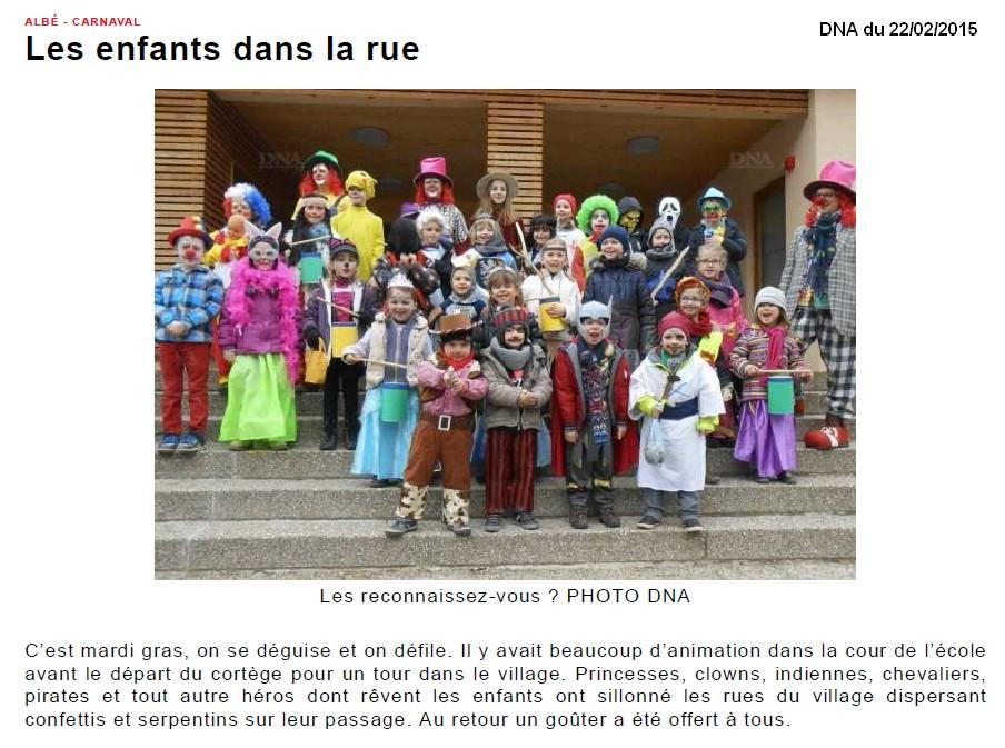Vallée de Villé _ Les enfants dans la rue