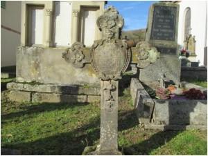 Croix sur la tombe de Barbe Klein 1